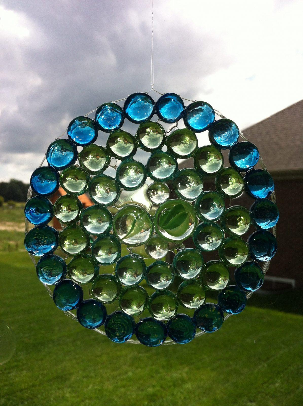 Craft Time ~ Glass Gem Suncatchers