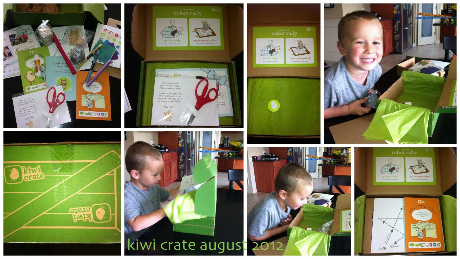 Kiwi Crate Review + Coupon Code – August 2012