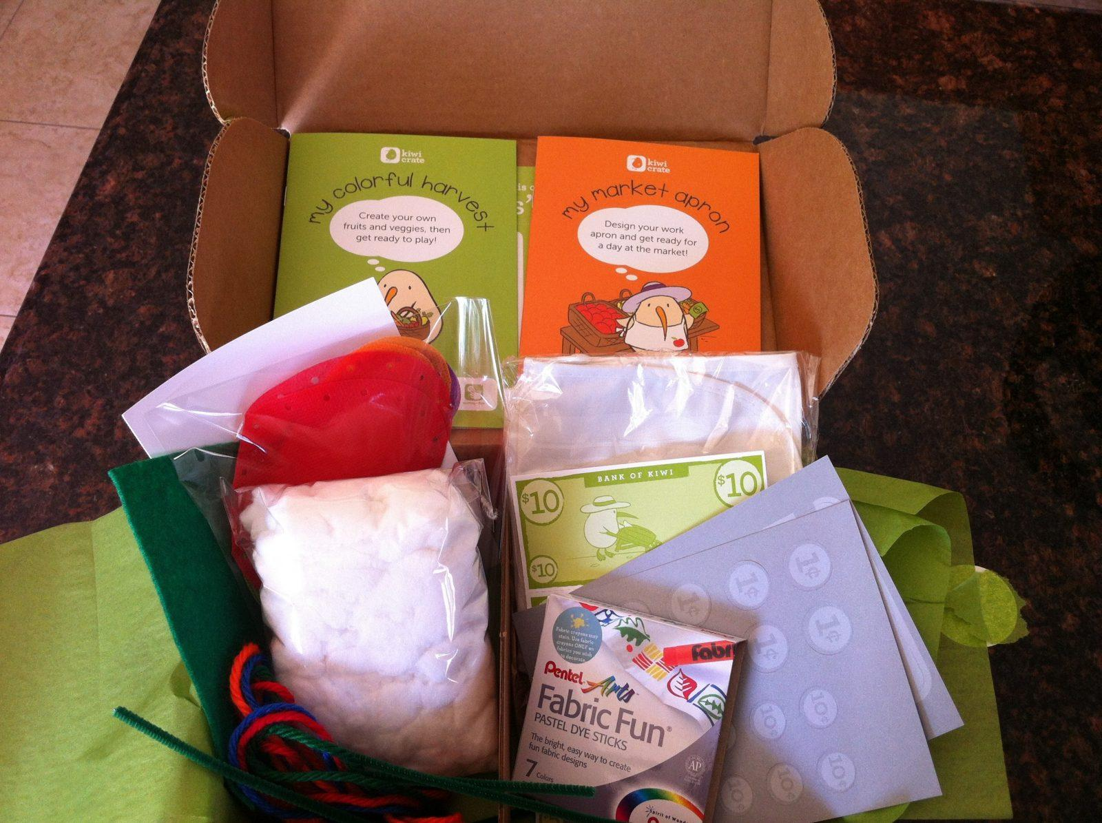 Kiwi Crate Review + Coupon Code – September 2012