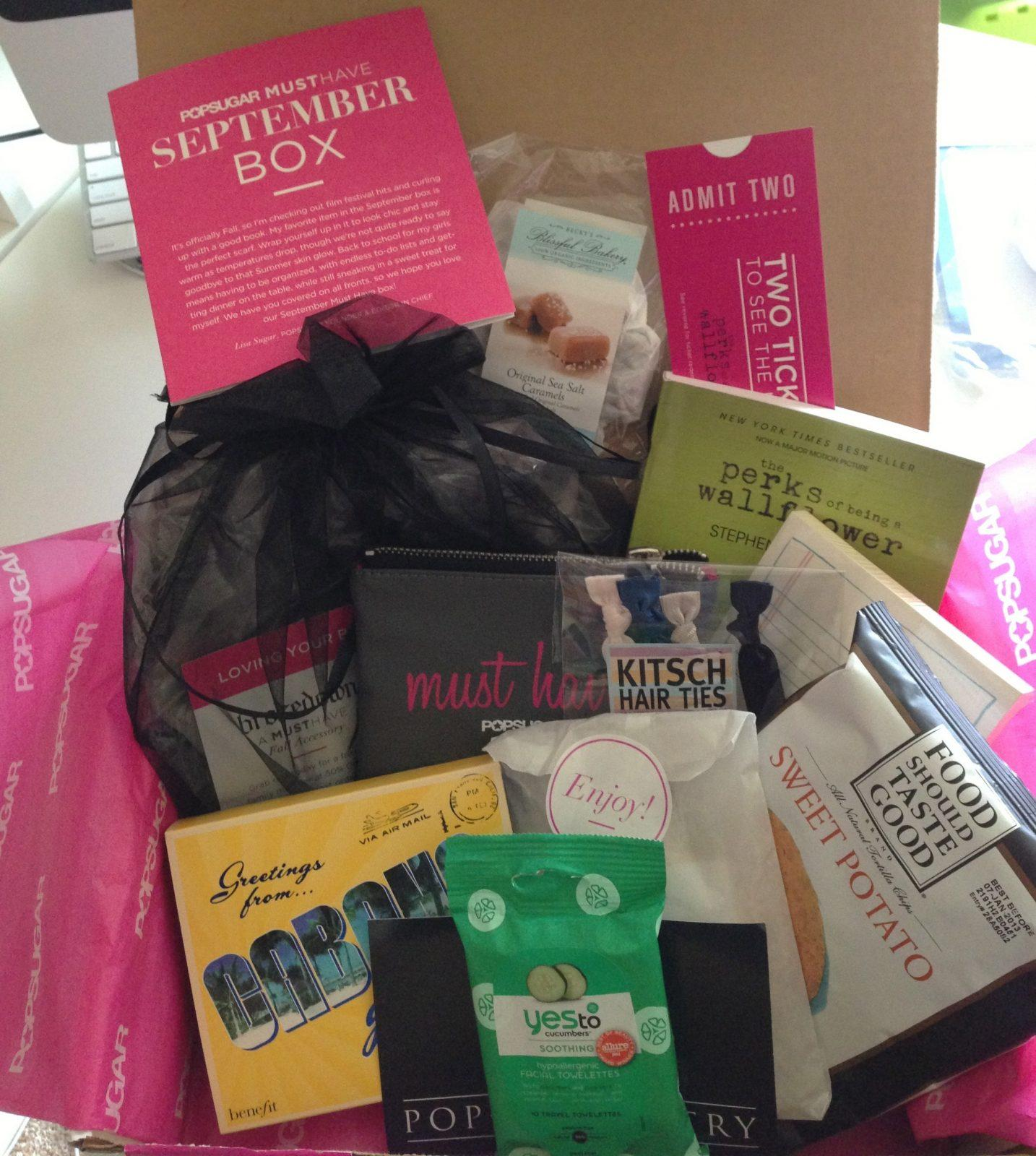 POPSUGAR Must Have Box Review + Coupon Code – September 2012