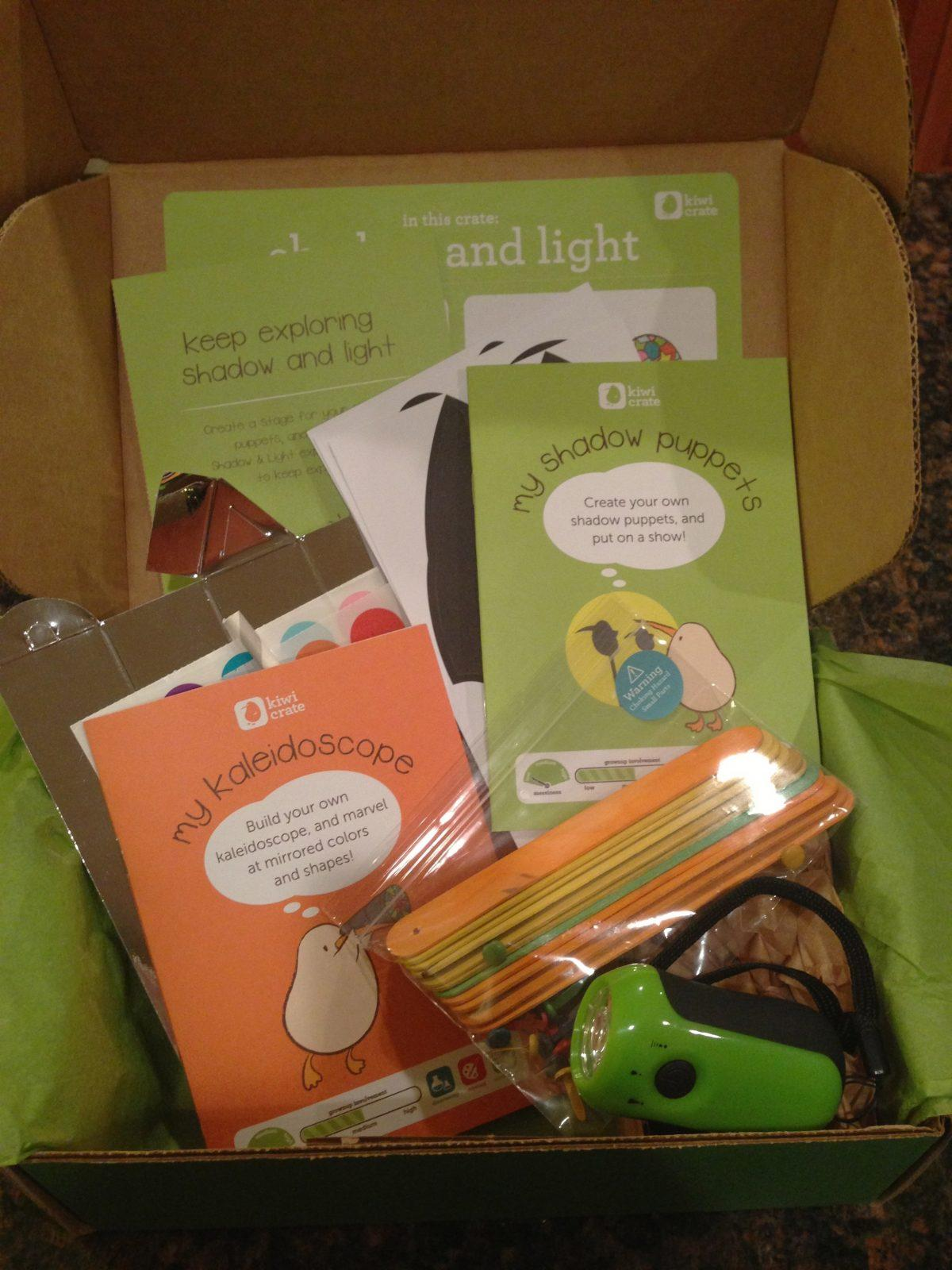 Kiwi Crate Review + Coupon Code – October 2012