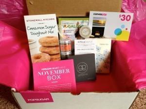 POPSUGAR Must Have Box Review + Coupon Code – November 2012