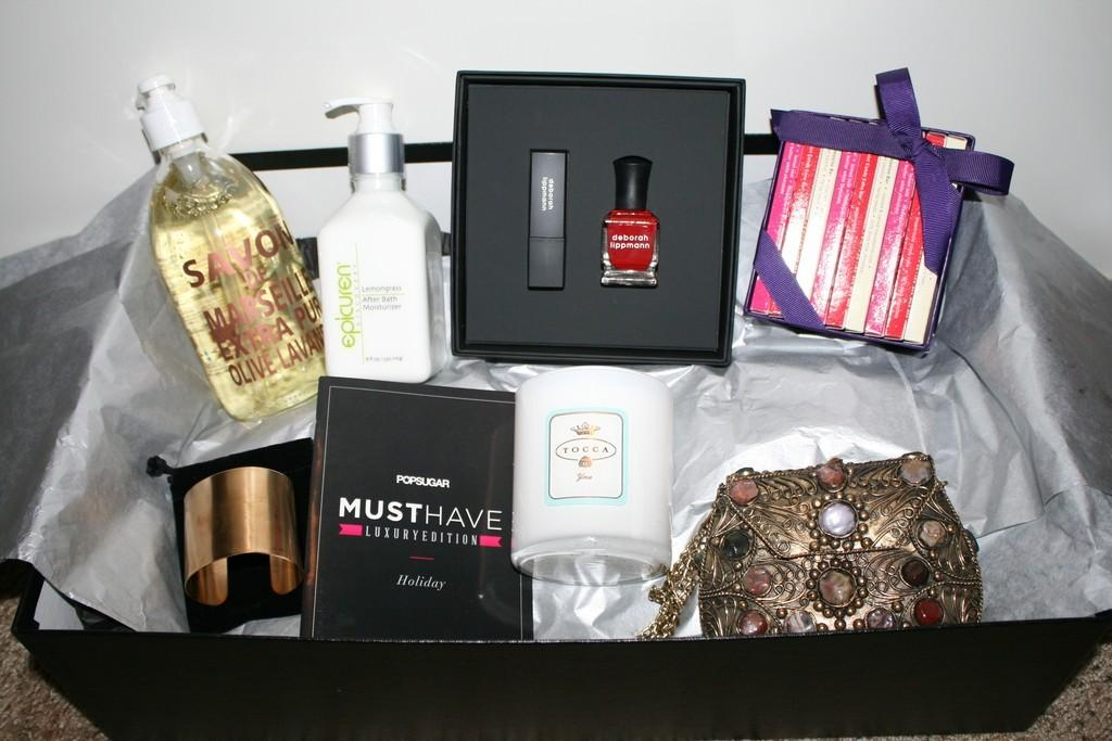 POPSUGAR Must Have 2012 Holiday for Her Box Review
