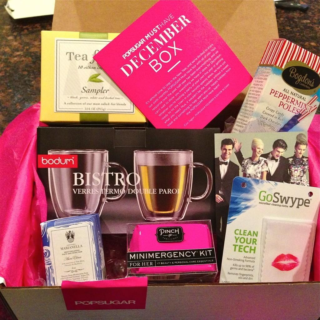 POPSUGAR Must Have Box Review + Coupon Code – December 2012