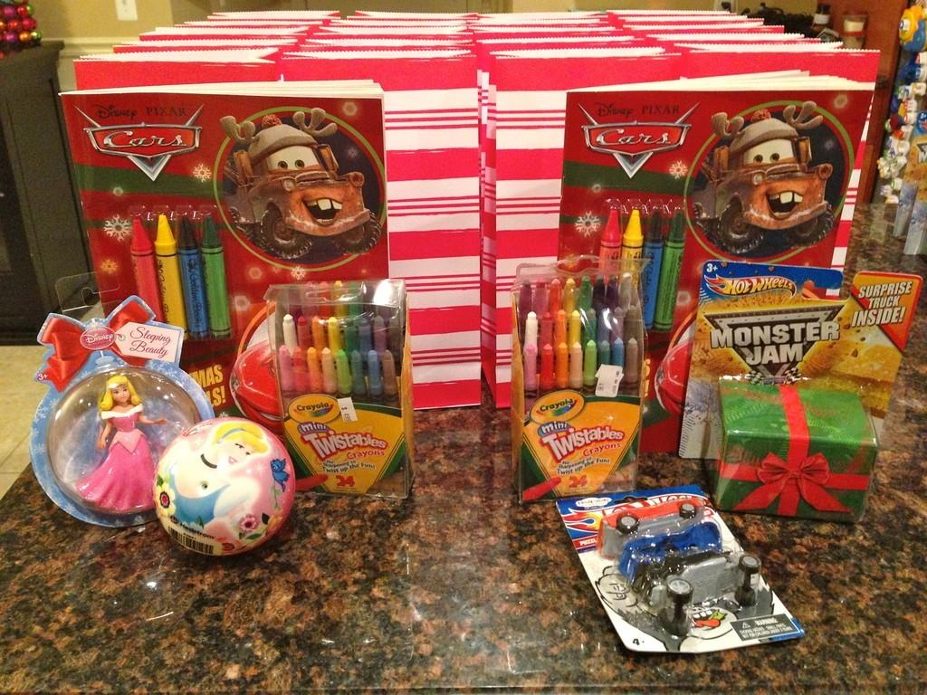 Preschool Party Gift Bags