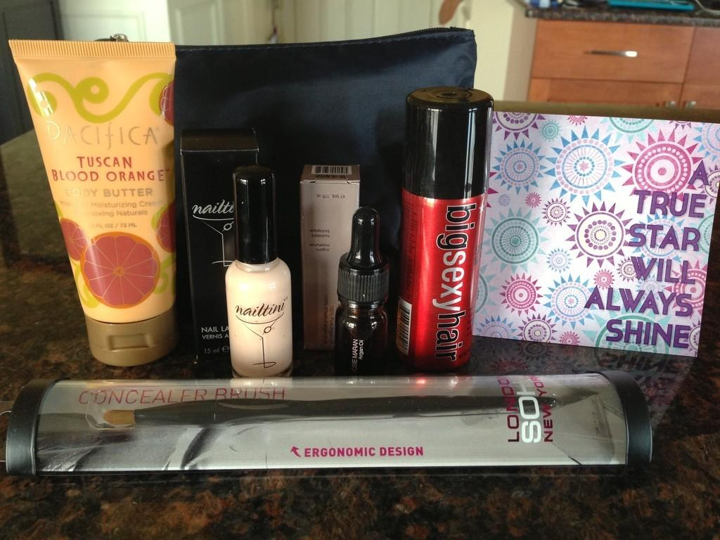 January 2013 ipsy Glam Bag Review