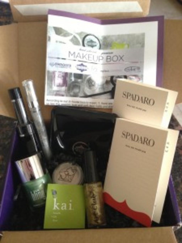 Wantable Makeup Review – January 2013