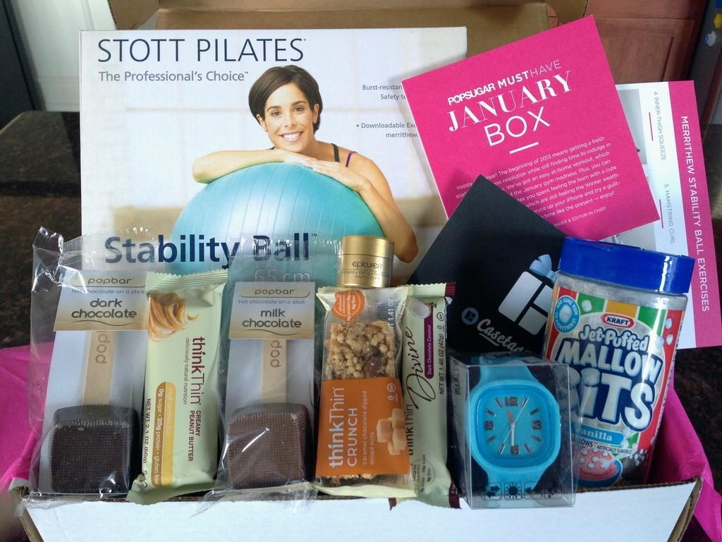 POPSUGAR Must Have Box Review + Coupon Code – January 2013