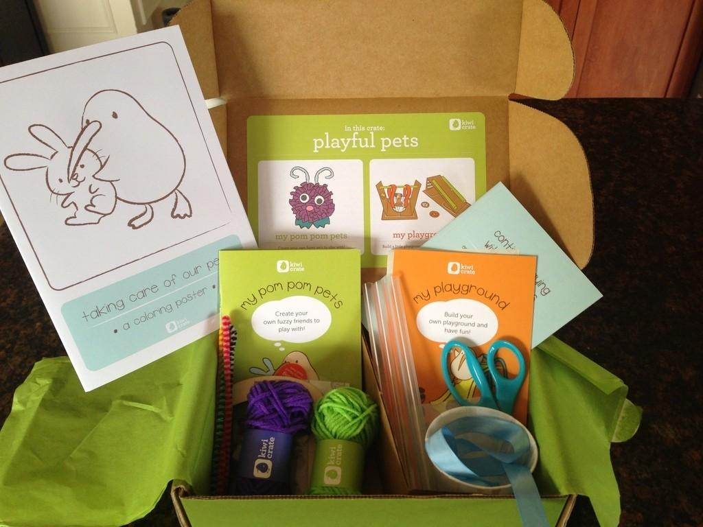 Kiwi Crate Review + Coupon Code – February 2013