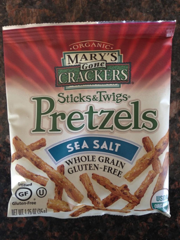 Mary's Gone Crackers Sea Salt Pretzels
