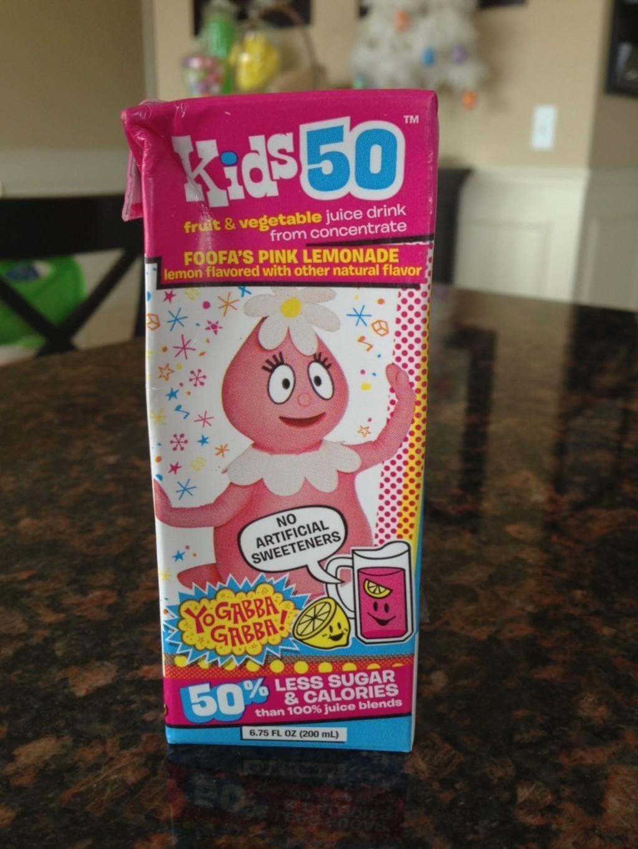 Kids 50 Fruit & Veggie Juice