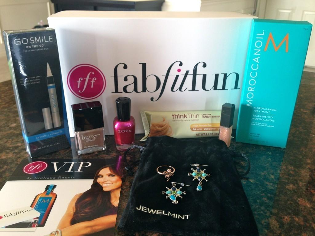 FabFitFun Review  Spring 2013  Subscription Box Ramblings