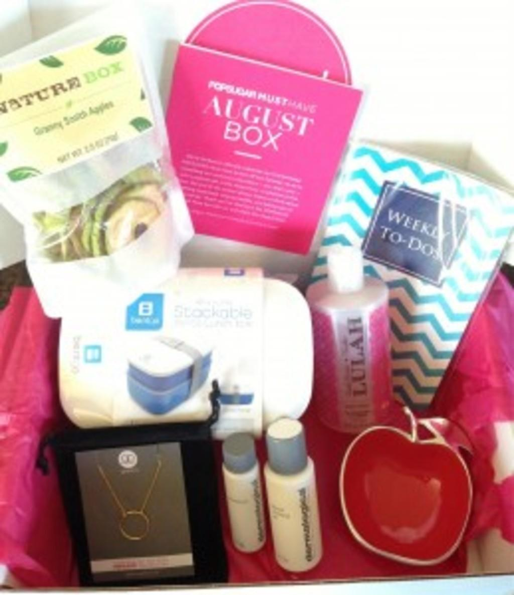 POPSUGAR Must Have Box Review + Coupon Code – August 2013