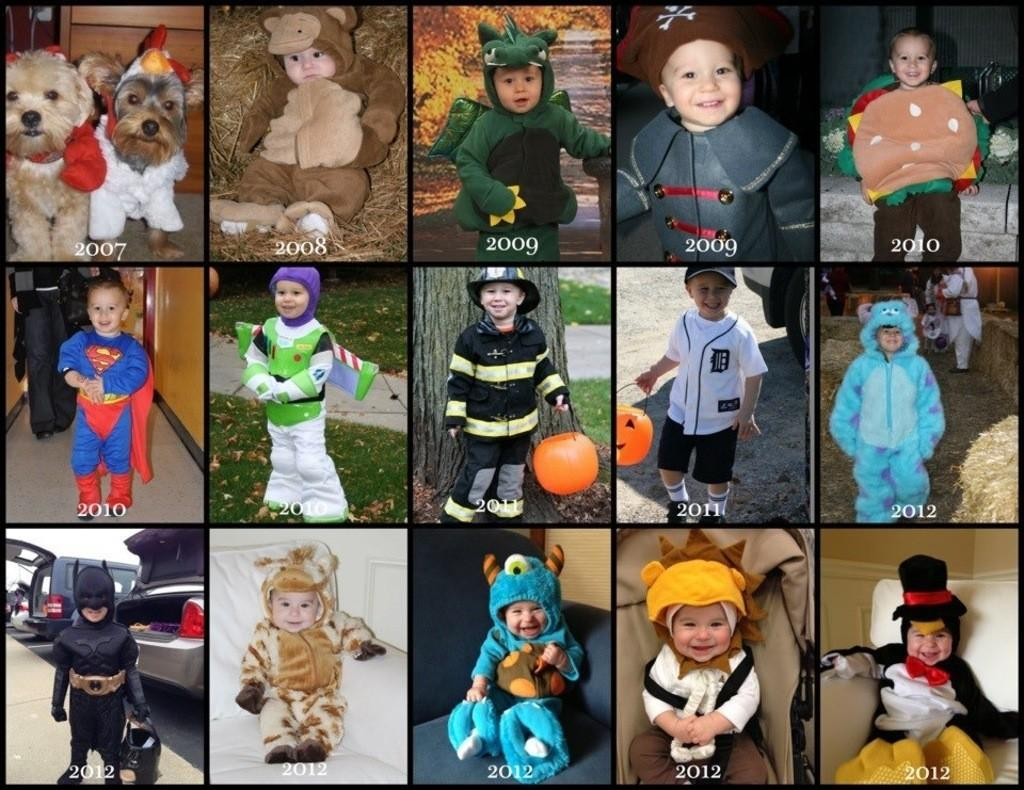 So many costumes