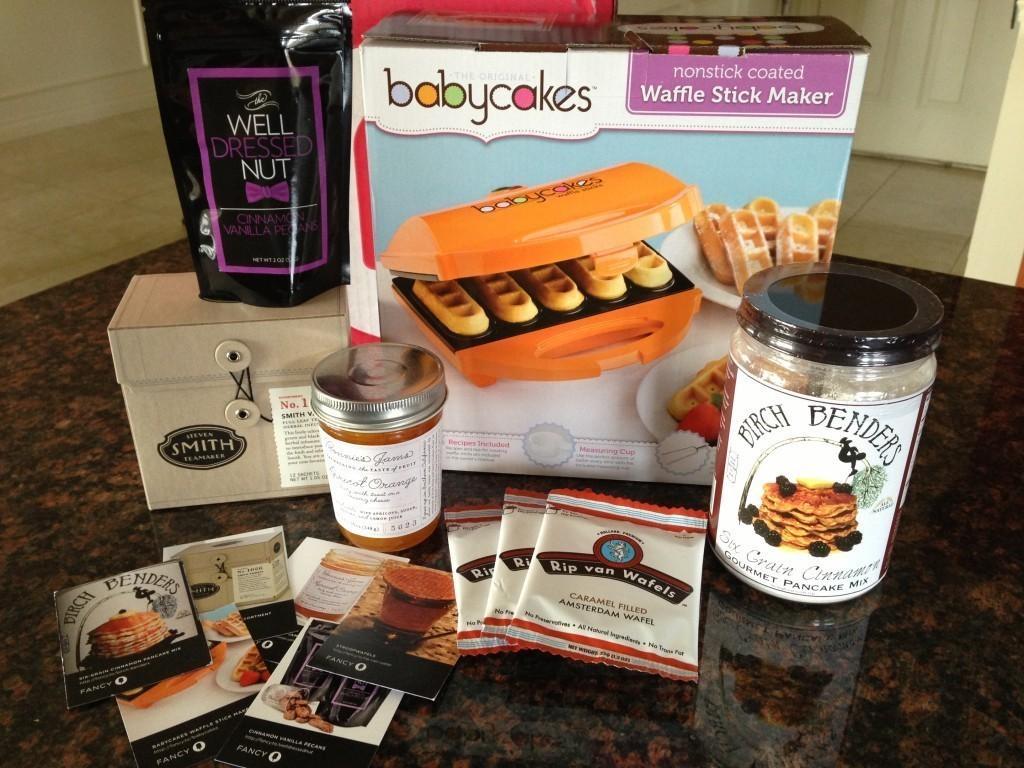 September 2013 Fancy Food Box