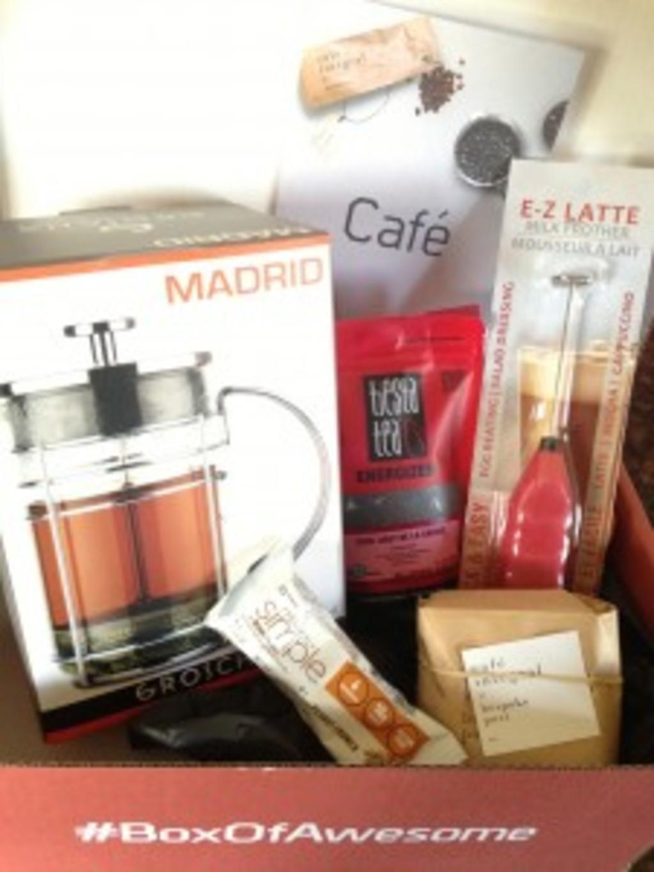 "Bespoke Post Review + Coupon Code – September 2013 ""Café"""