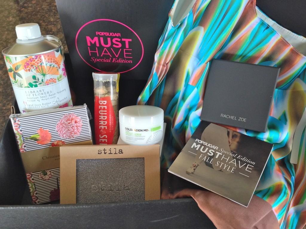 PopSugar Must Have 2013 Fall Limited Edition Box Review