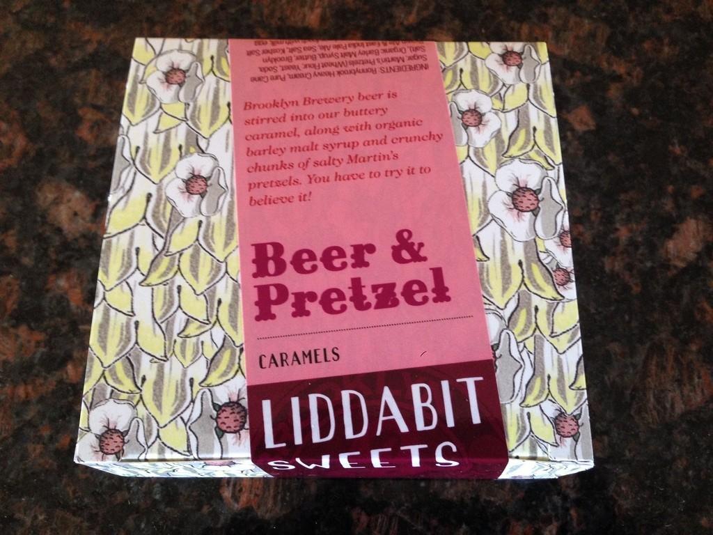 Liddabit Beer & Pretzel Caramels