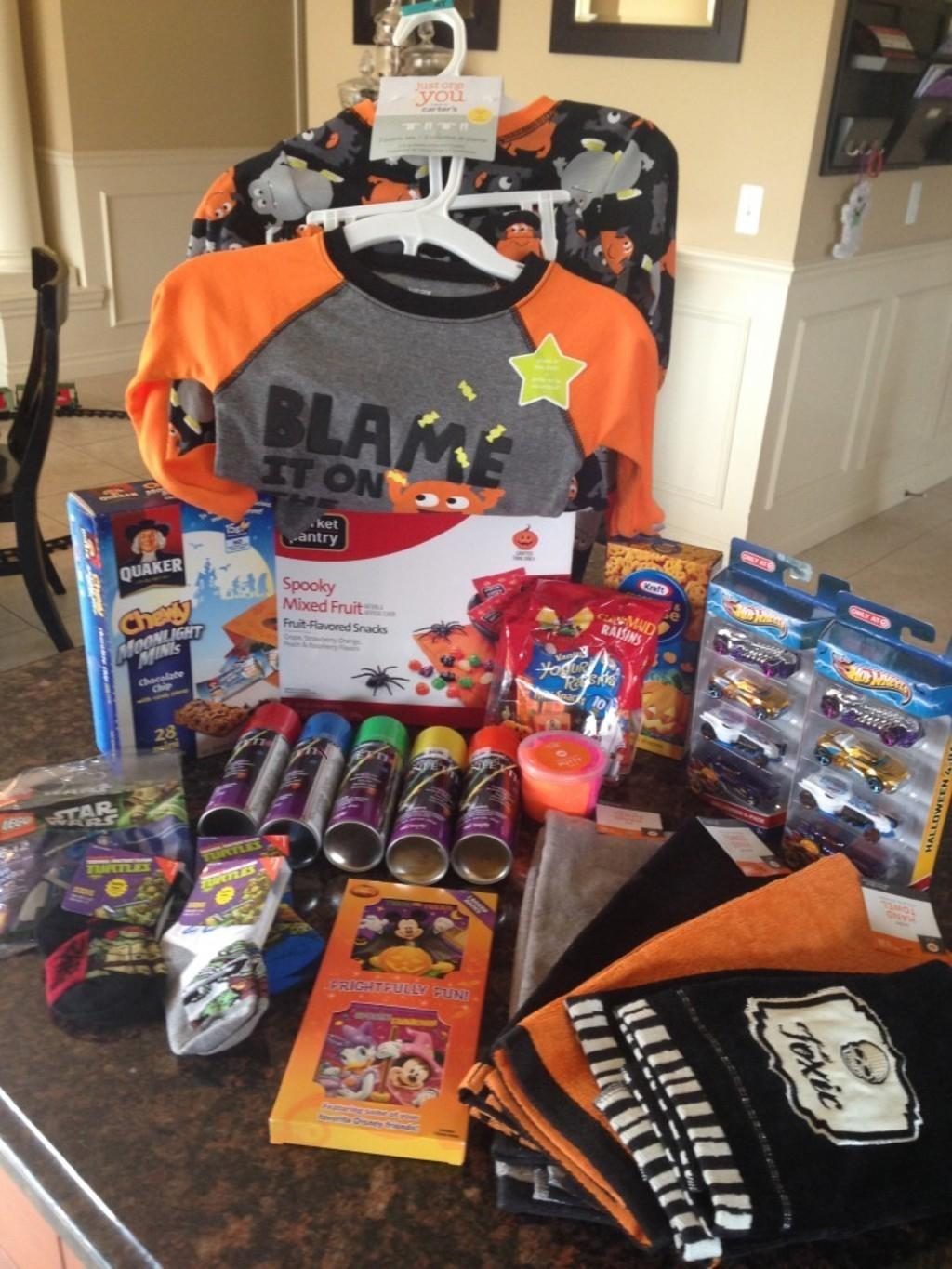 Target Halloween Clearance - 50% Off Haul - Subscription Box Ramblings