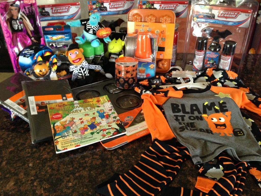 Target 90% Off Halloween Clearance Haul - Subscription Box Ramblings