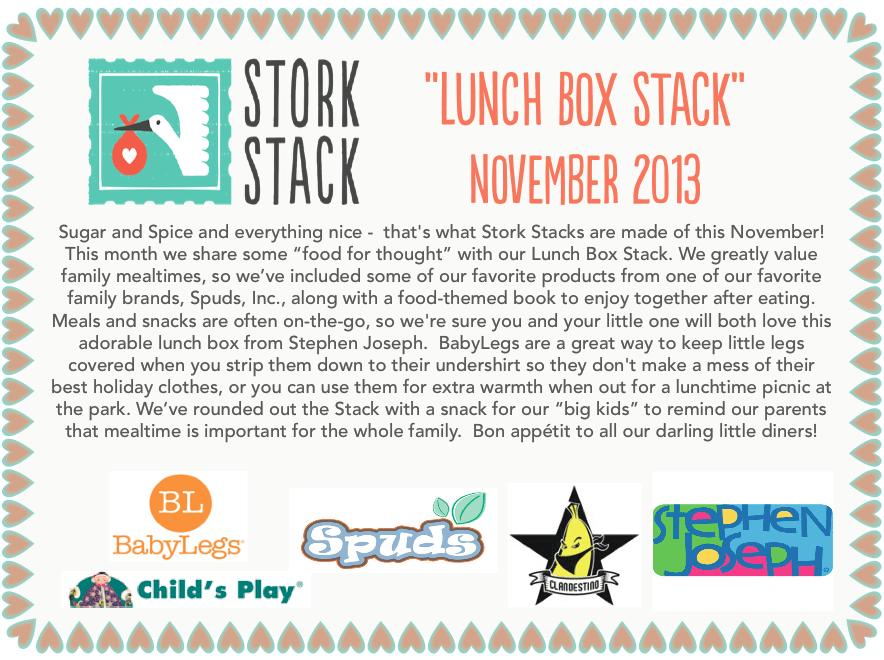 November Stork Stack