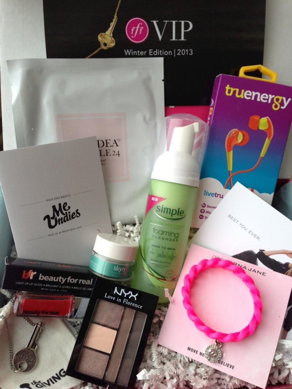 FabFitFun Review   Coupon Code  Winter 2013  Subscription Box