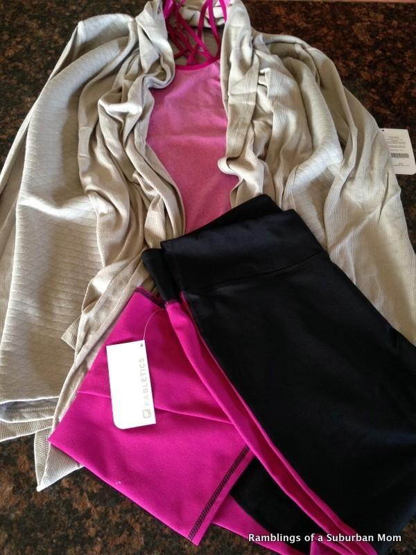 January 2014 Fabletics Review