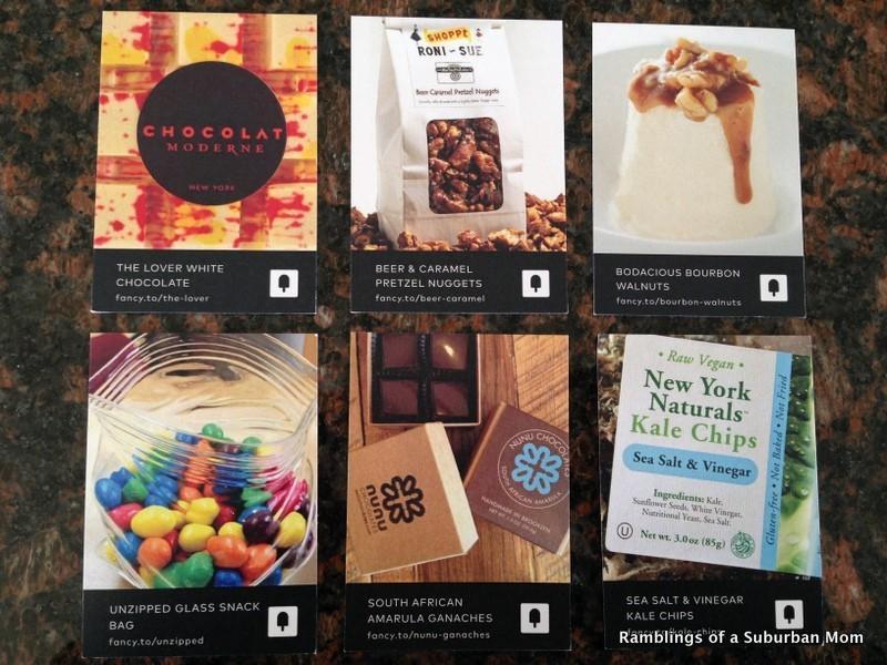 February 2014 Fancy Food Box