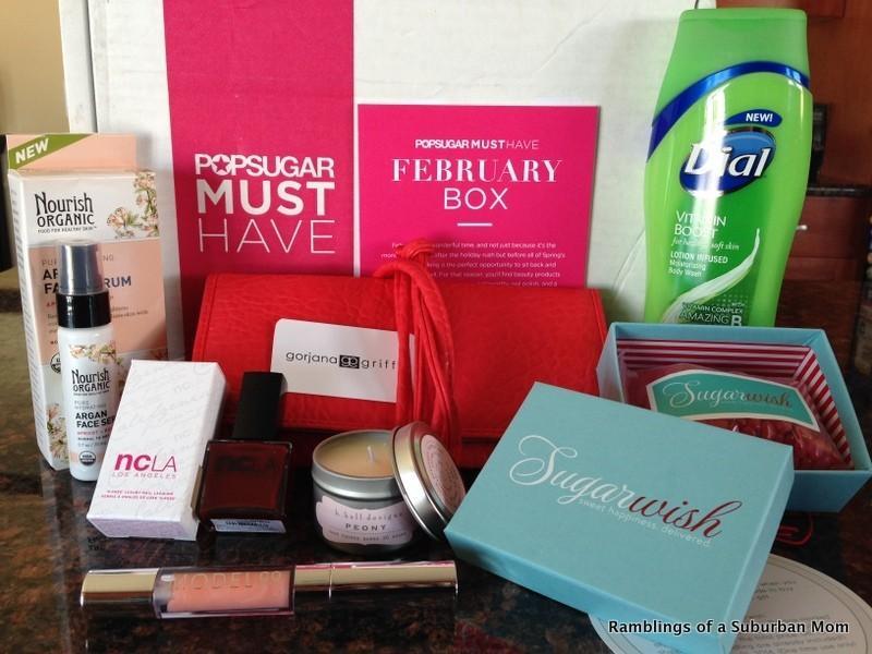 February 2014 PopSugar Must Have Box