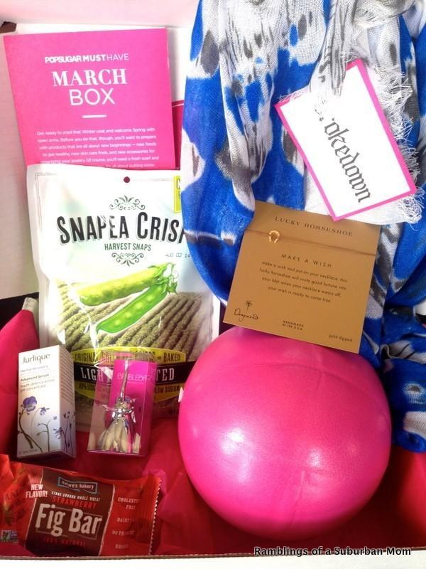 March 2014 PopSugar Must Have Box