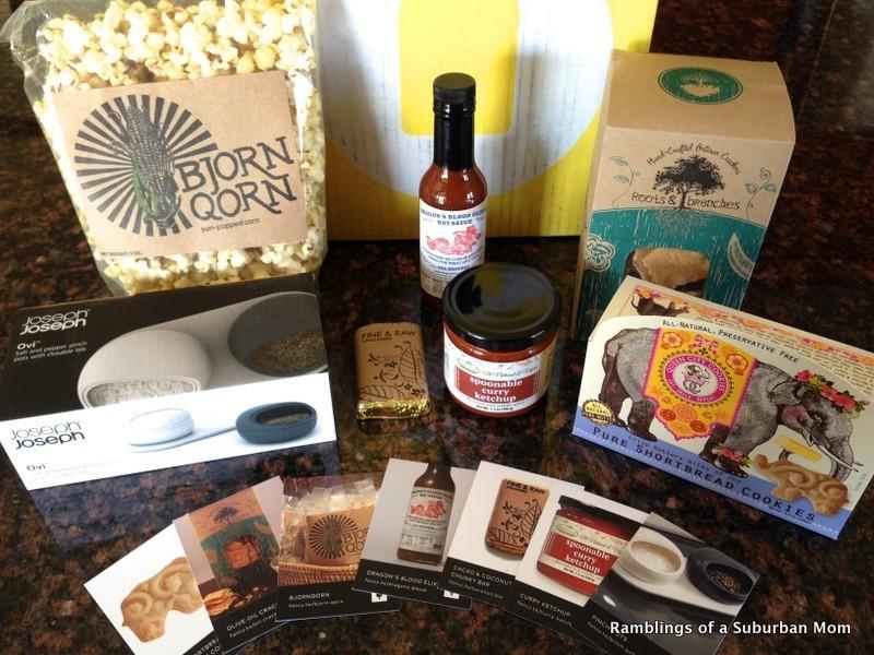 April 2014 Fancy Food Box