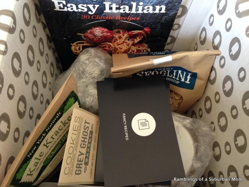 May 2014 Fancy Food Box