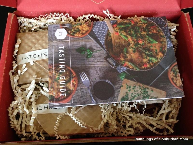 May 2014 Hatchery Tasting Box