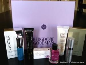 GLOSSYBOX for Bergdorf Goodman Review – May 2014
