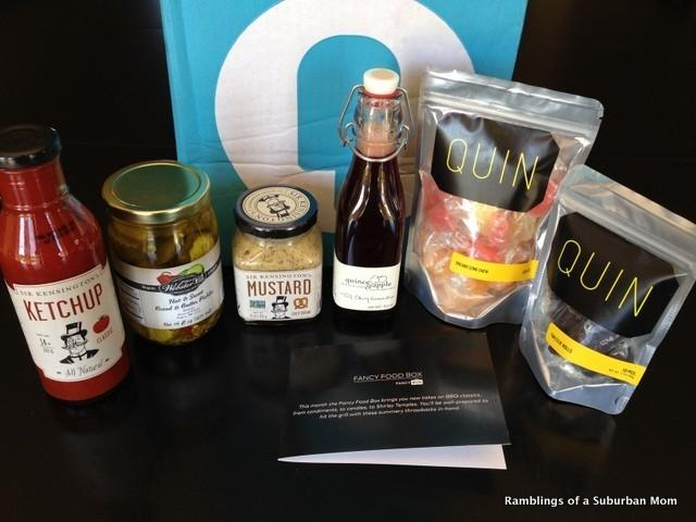 June 2014 Fancy Food Box