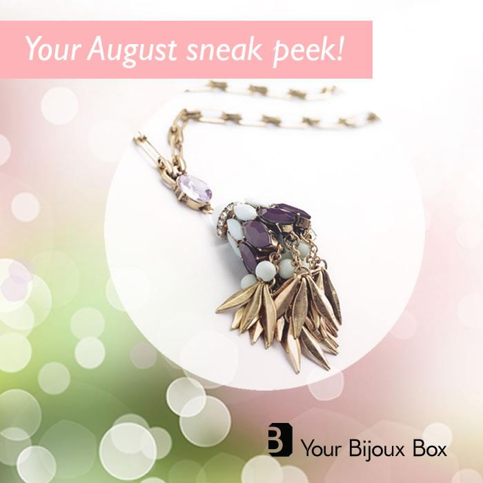 August 2014 Your Bijoux Box