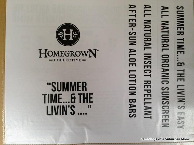 June 2014 Homegrown Collective