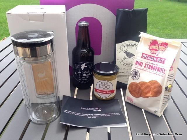 July 2014 Fancy Food Box Review