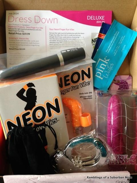 July 2014 SpicySubscriptions Spice Box Deluxe
