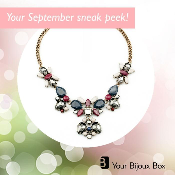 September Bijoux Box Spoiler