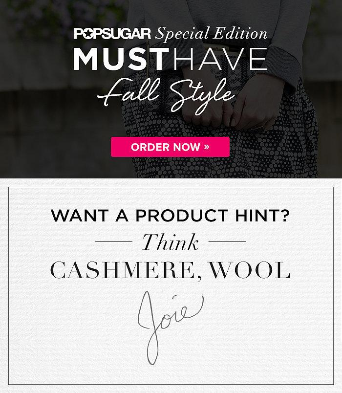 PopSugar Special Edition Must Have Fall Style Box SPOILER!!