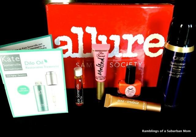 August 2014 Allure Sample Society Review - Subscription Box Ramblings