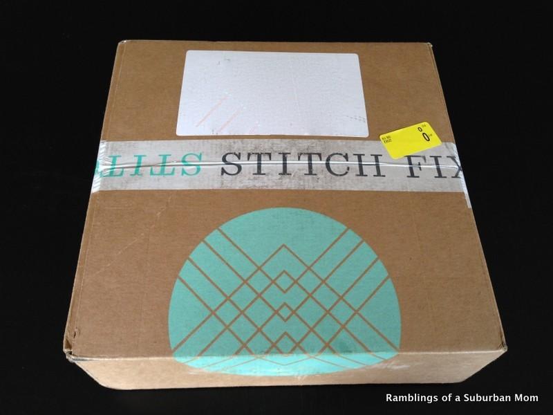 August 2014 Stitch Fix