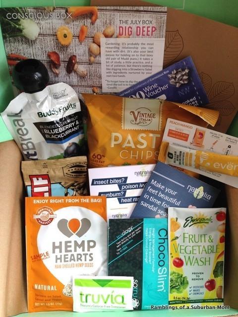 July 2014 Conscious Box