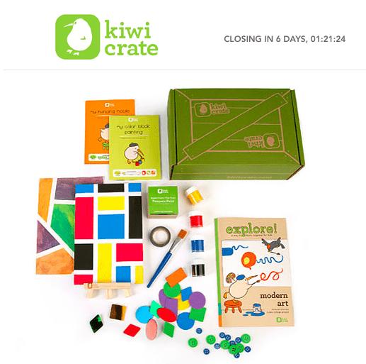 Kiwi Crate on Rue La La