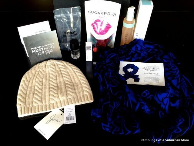 PopSugar Special Edition Must Have Fall Style Box