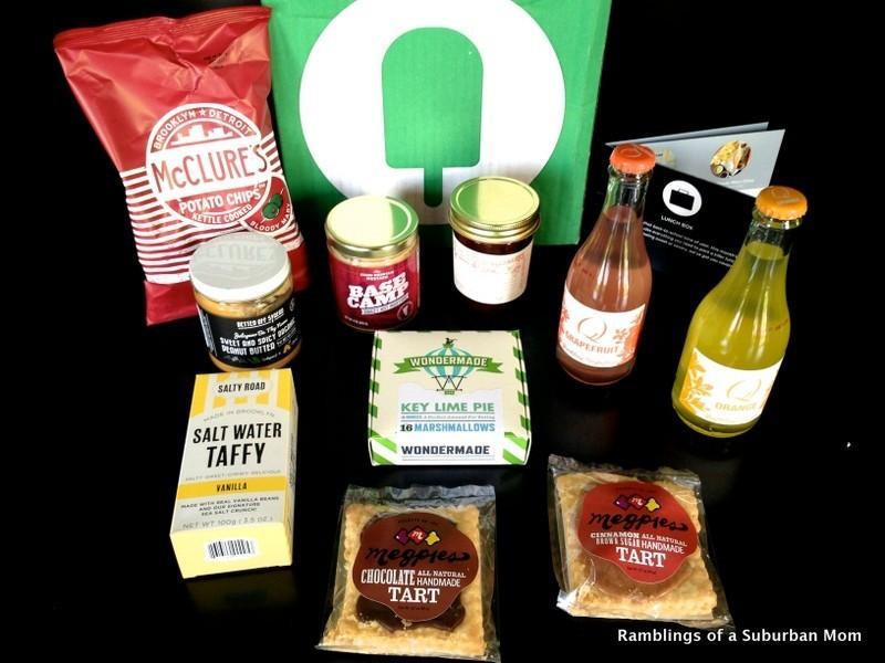 September 2014 Fancy Food Box
