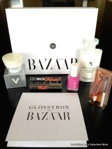 GLOSSYBOX Review + Coupon Code – September 2014 (GLOSSYBOX for Harper's BAZAAR)