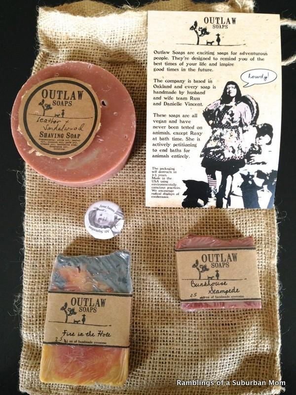 September 2014 Outlaw Soaps The Clean Getaway Box