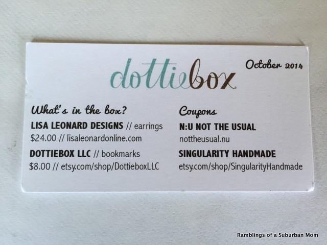 October 2014 Dottiebox Mini